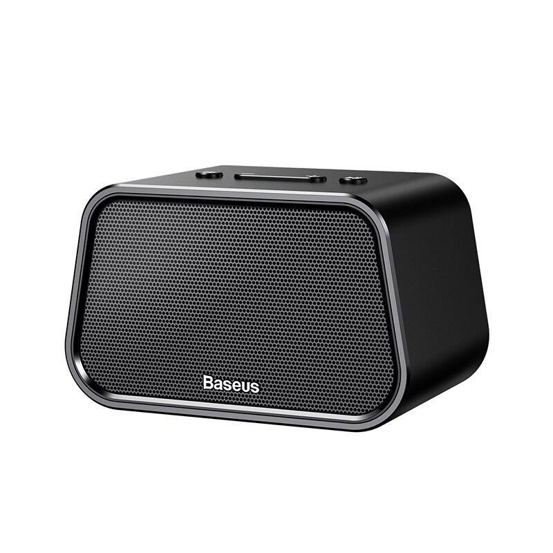 BASEUS мини-динамик <font><b>bluetooth</b></font> V4.2 Встроенный микрофон открытый Портативный Беспроводной Hi-Fi динамик музыке стерео объемного Сабвуфер Звук Box