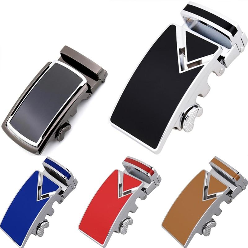 ZPXHYH Fashion Men's Business Alloy Automatic Buckle Unique Men Plaque Belt Buckles For 3.5cm Ratchet Designer Belts Luxury Belt