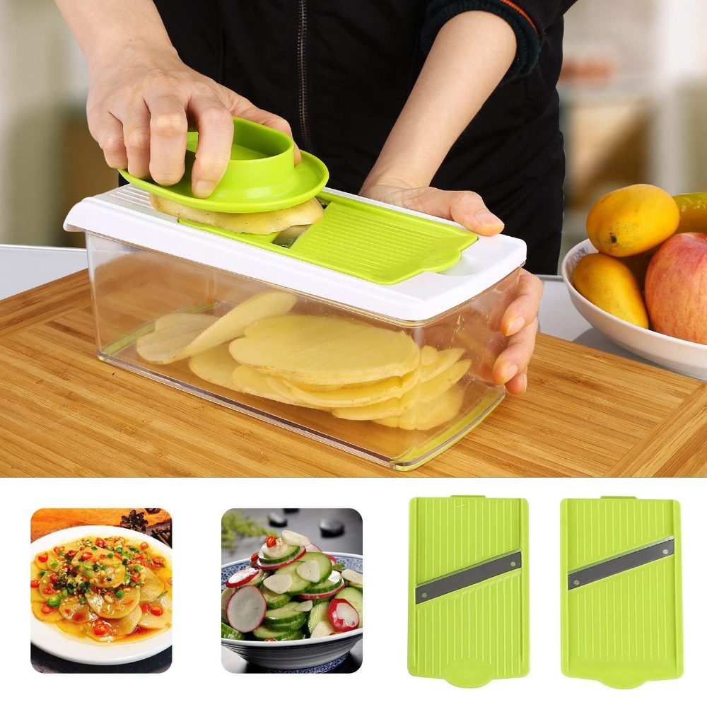 Kitchen Tools Kitchen Slicer Vegetable Fruit Slicers11 Interchangeable Stainless Multi Cheese Dicer Kitchen Slicer As Seen On Tv Manual Slicers Aliexpress
