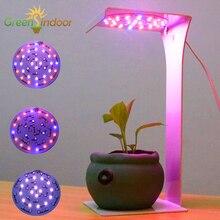 טיימר USB ספקטרום מלא LED לגדול אור לגידול צמחים מקורה מנורת קריאת אורות IR VU פיטו אוטומטי על/OFF שולחן צמיחה מנורות