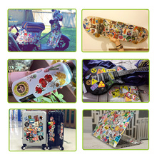 Retro Sticker Graffiti Cartoon Unicorn Neon Anime Stickers for Kids DIY Laptop Moto Car Skateboard Luggage Decals Classic Toys