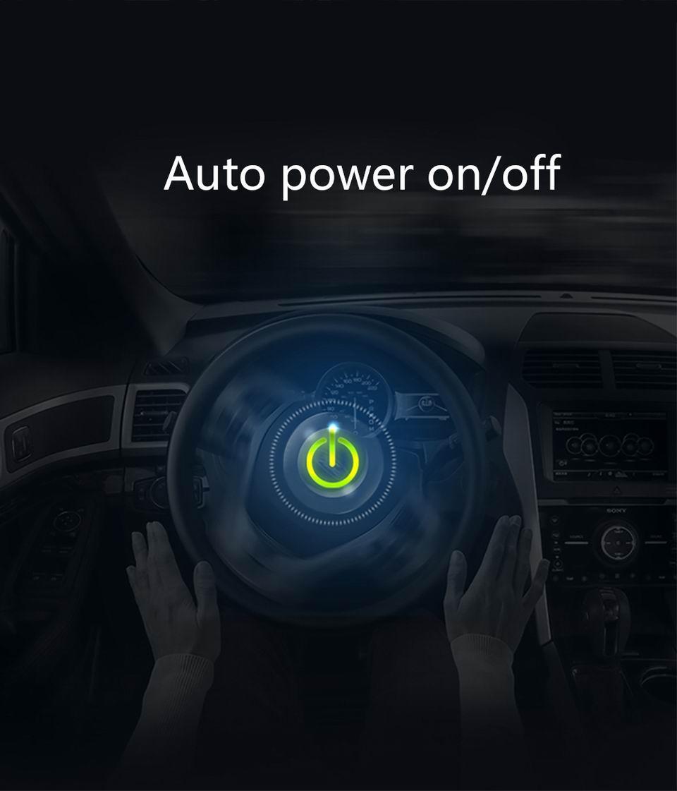 Original VJOYCAR C500 OBD2 Hud T900 GPS Head Up Display Projector Digital Car Speed Projector On-Board Computer Fuel Mileage 13