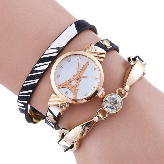 5471ab55c02 2017 Relógio de Quartzo para Presentes Da Menina Design Simples Feminino  Relógio Moda Relógios Pulseira de