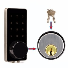 Office Smart Bluetooth Touch Screen Lock Digital Password Keypad Door Lock With Smartphone App For Hotel Apartment F1401A