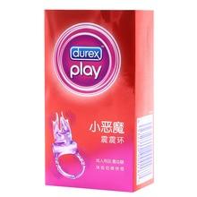 Durex Little Devil Vibrating Ring Time Delay Ring Clitoris Stimulator Vibrators Sex Toys Product for Men Couples