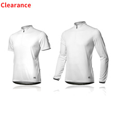 Spakct Clearance Cycling Jersey Breathable White Long Sleeve Jersey Road  Bike MTB Short Sleeve Top Riding f5190edbc