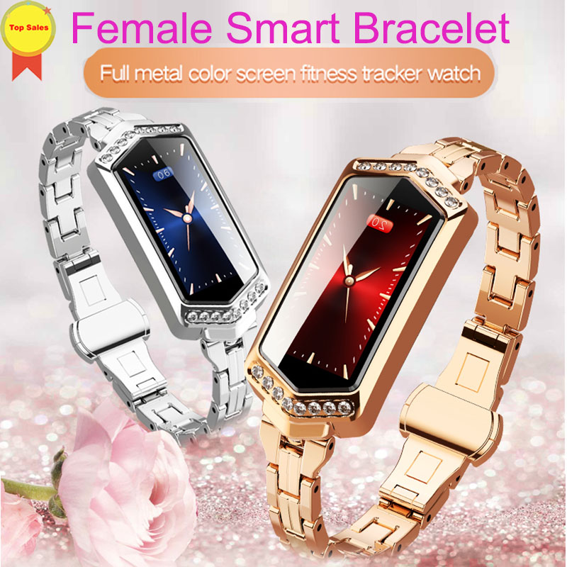 Smart Bracelet Heart Rate Monitor Blood Pressure Monitor 0 96 39 39 Colorful Screen Vibrate Alarm Clock smart wristband pk band M3 4 in Smart Wristbands from Consumer Electronics
