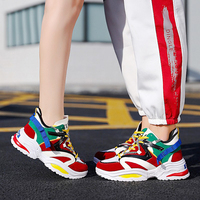 Casual Women's Shoes, Women Vulcanize Shoes New Couple Sports Shoes Basketball For Men Ladies Trainers Chaussure Femme Sneakers