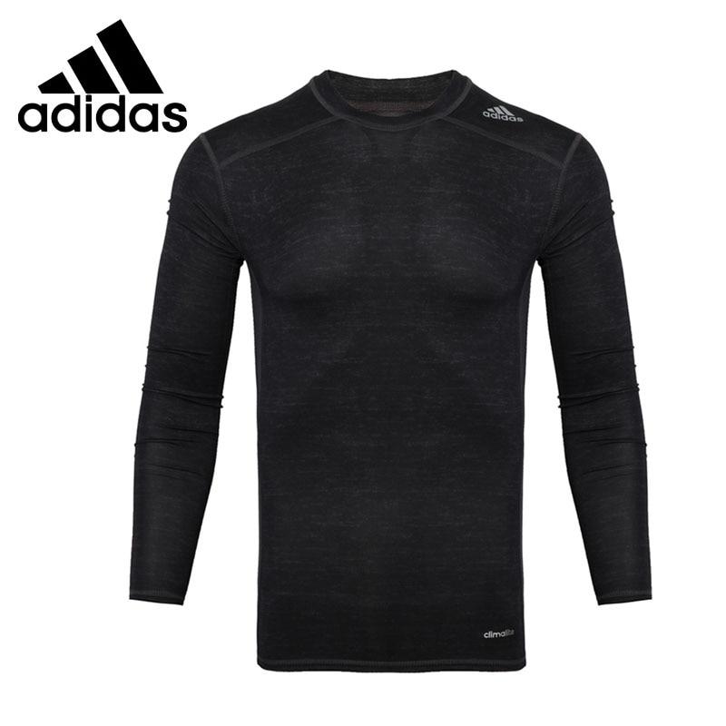 Original New Arrival Adidas TF BASE LS Men's T-shirts shirt Long sleeve Sportswear цена