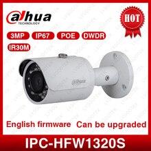 Dahua Original IPC-HFW1320S 3MP Mini Bullet IP Camera Day/ Night infrared CCTV Camera POE Support IP67 Waterproof Security Camer