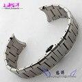 Hombres de acero inoxidable pulsera de Metal de plata reloj de la correa 22 mm para AR2448 AR2432