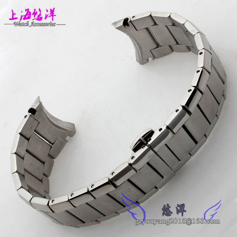 New Mens Stainless Steel Silver Metal Bracelet Watch Band Strap 22mm For AR2448 AR2432