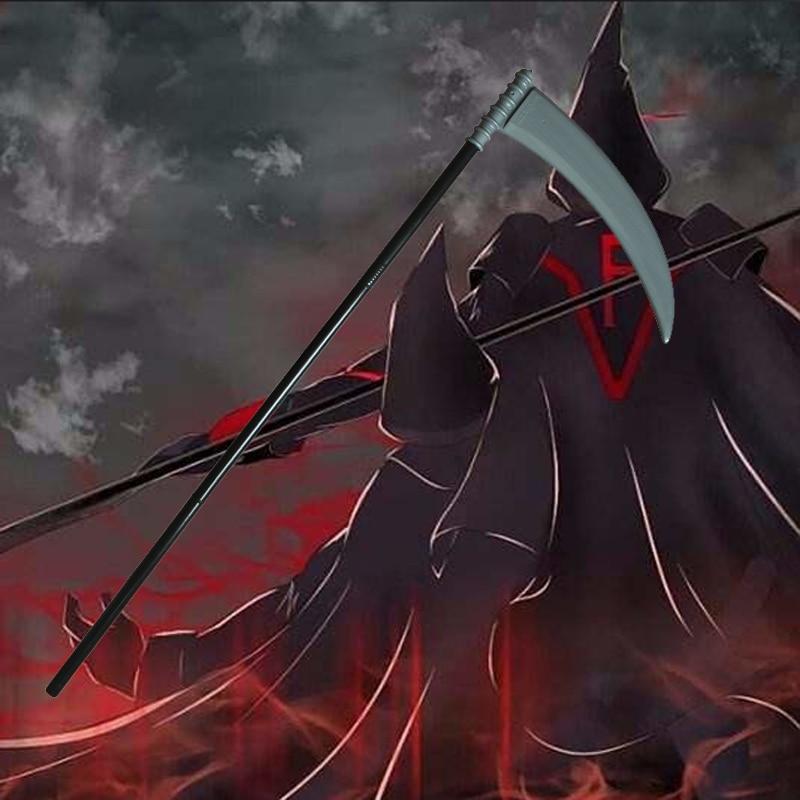 Costume Props Lovely Anime Cosplay Weapon Baka To Test To Shoukanjuu Fukanzenna Ketsumatsu Sickle Fff Cosplay Accessory Fine Quality