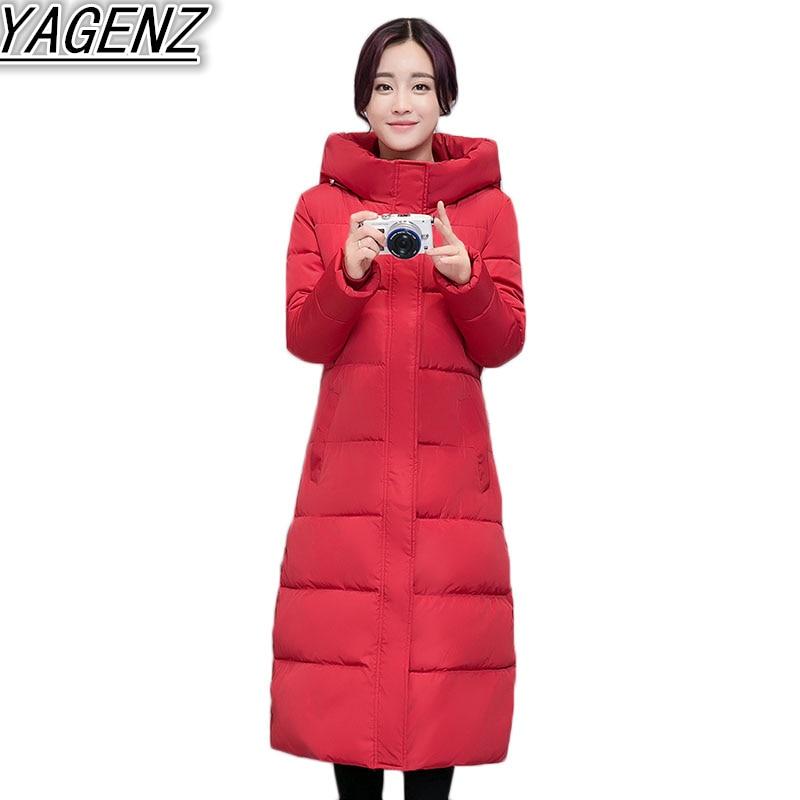 khaki Épaississent Mince De D'hiver gray Rembourré Chaud Black 2018 Vers Femmes Vestes Manteau red Longue Capuche Long Ms Veste Hiver Le Bas Coton Mode Parka HxqwOHg4t