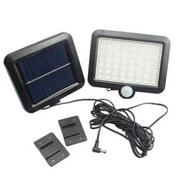Solar Light 56 LED Street Solar Wall Lamp PIR Motion Sensor Spotlights Waterproof Outdoors Garden Park Security Night Lighting