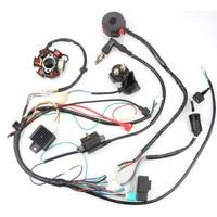 Wire Harness CDI Magneto Stator Rectifier For 50cc 70cc 90cc 110cc 125c 4 Stroke