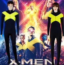 X-Men: Dark Phoenix Jean Grey Cosplay Costume Jumpsuit Jacket Uniform Suit For Women Girls Halloween Carnival Costumes