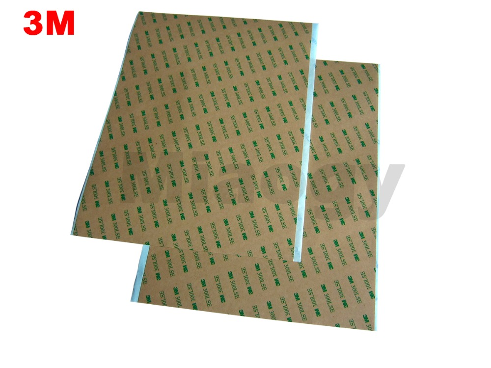 5 Sheets 210mm*290mm 3M 300LSE Double Sided Sticky Sheet Adhesive Tape 21cmx29cm Big Like A4