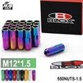 Hubsports - Blox Racing Forged 7075 Aluminum Lug Nuts P 1.5, L : 60mm 20 Pcs/Set 550NUTS-1.5