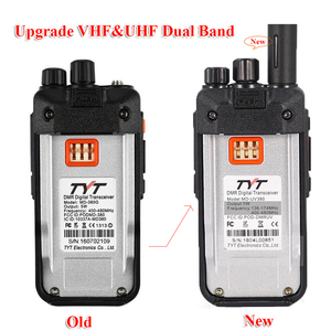Image 3 - TYT MD UV380 Dual Band 136 174Mhz & 400 480MHz Walkie talkie DMR Digital Two Way Radio MD 380 dual time slot transceiver + USB