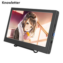 "11.6"" Metal Shell HD Widescreen 1920×1080 IPS Panel  Monitor Support HDMI for XBox PS WiiU Game Console /Raspberry Pi"