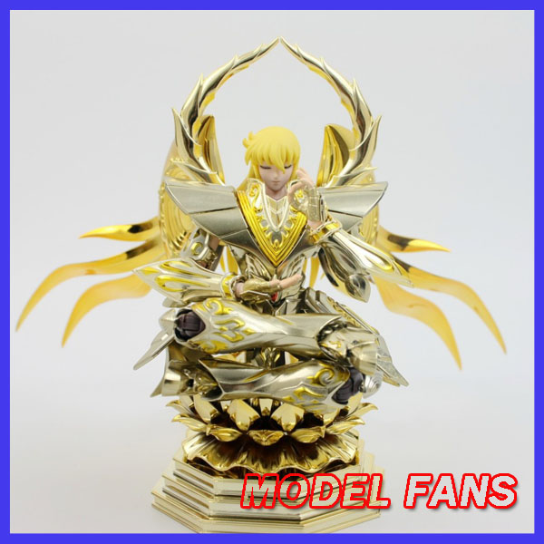 MODEL FANS instock soul of gold sog virgo shaka METAL CLUB metalclub saire MC Saint Seiya metal armor Myth Cloth Action Figure model fans metal club s temple toyzone mc st tz 12 gold saint seiya cloth myth oce gemini virgo leo scorpio cancer aquarius