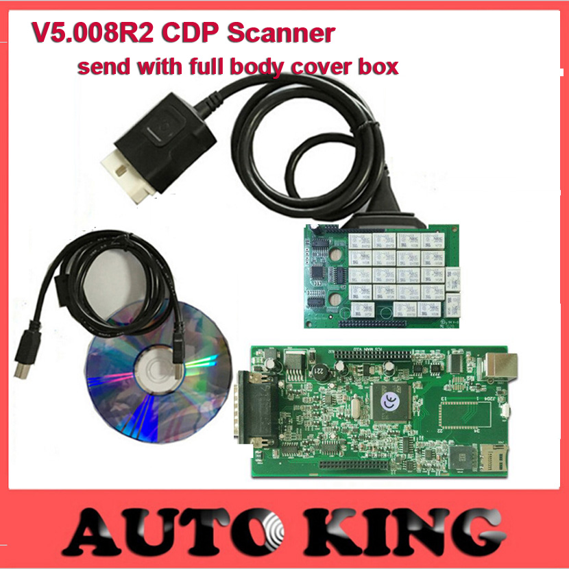 DHL Free ship Super Quality with keygenTCS CDP MVD OBD2 Scan font b Tool b font