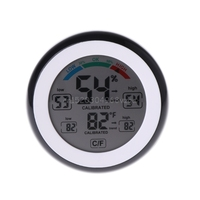 Digital Indoor Thermometer Hygrometer Touchscreen Temperature Gauge Humidity Monitor H028