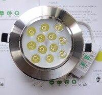 Led Spot light 15W 18W 12V 24V led downlights 3000K 4000K 6000K wall backdrop full led luminaire energy security upgrade
