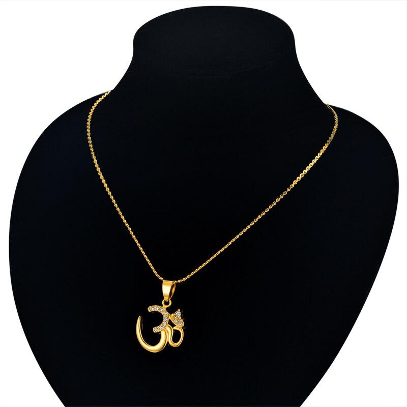 Collier pendentif hindou