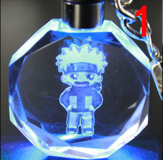 аниме Брелок кристалл Наруто в ассортименте 1
