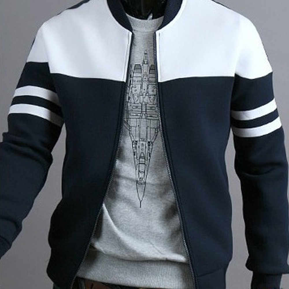 الخريف الشتاء الأزياء سستة السترات الرجال الرياضية خليط طويلة الأكمام معطف سترة في الهواء الطلق معطف للرياضة s10 se26