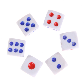 Prediction Dices Normal Dice Six Dice Prediction Box 6 Dice Flash Change Changing Effect Close up Magic Props Toys image