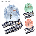 Kids Clothes Set 2PCS Shirt + Pants Suits for Boys Baby Clothes Toddler Boys Clothing Set Spring Autumn Outfits 2017 New Fashion