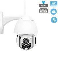 1080P PTZ WIFI Camera Outdoor Speed Dome Wireless Security IP Camera Exterior Pan Tilt 4X Zoom IR CCTV Cam ip Camara