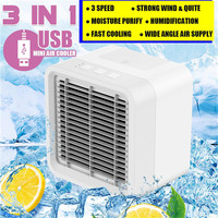 12V Portable Evaporative Air Conditioner Home Car ice Water Cooler Cooling Fan 2019