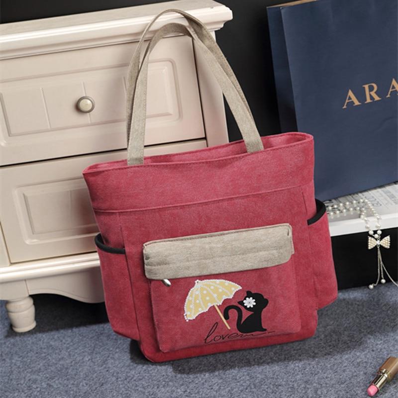 Bolsos Bags Handbag Messenger Bags Shoulder Bags Canvas Travel Bag Bolsa Feminina Sac A Main