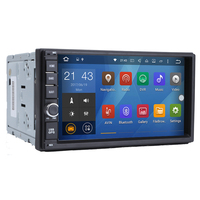 2 Two Din 7 Inch Android 6 0 Car DVD Multimedia Player For Nissan TIIDA QASHQAI