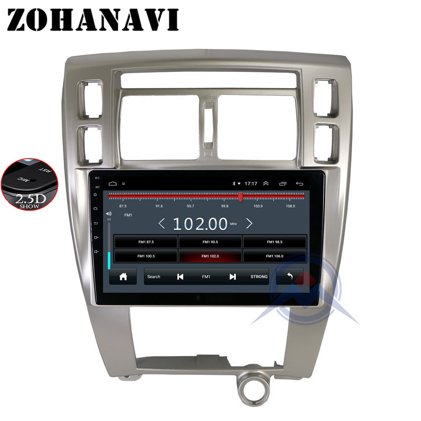 ZOHANAVI 10 2 inch Android Car DVD gps for Hyundai Tucson 2006 2014 radio stereo multimedia