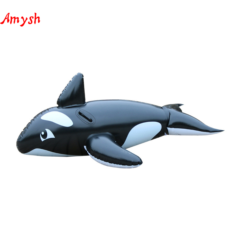 160cm Inflatable Giant whale Swimming Float Tube Raft Adult Giant pool Float Swimming Ring Summer Water Fun Pool Inflatable Toys inflatable black swan pool float swimming pool ring summer inflatable toys for adult child water flotadores para piscina