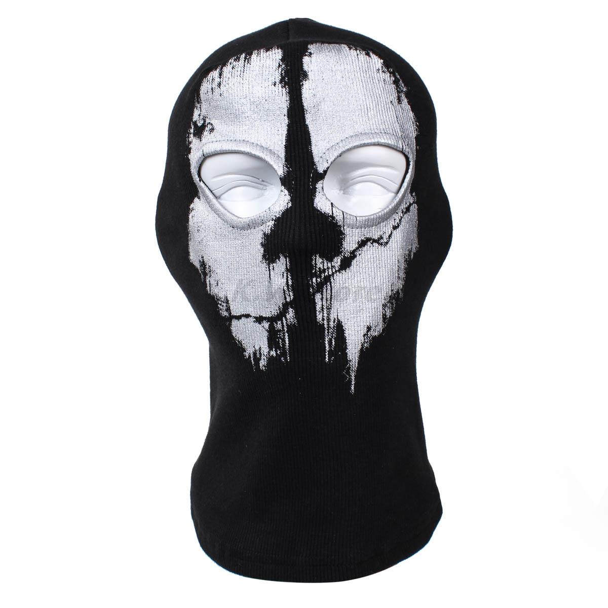 Winter Forest Skeleton Head Counter-terrorism Mission Call Equipment Grimace Warm Ghost Mask Outdoor Offset Printing Unisex wireless service call bell system popular in restaurant ce passed 433 92mhz full equipment watch pager 1 watch 7 call button