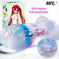 MRL soft Artificial vagina real pussy Masturbation Sex Toys For Men Adult Toy Male Cup Sex Products for couples sex vagina Pussy