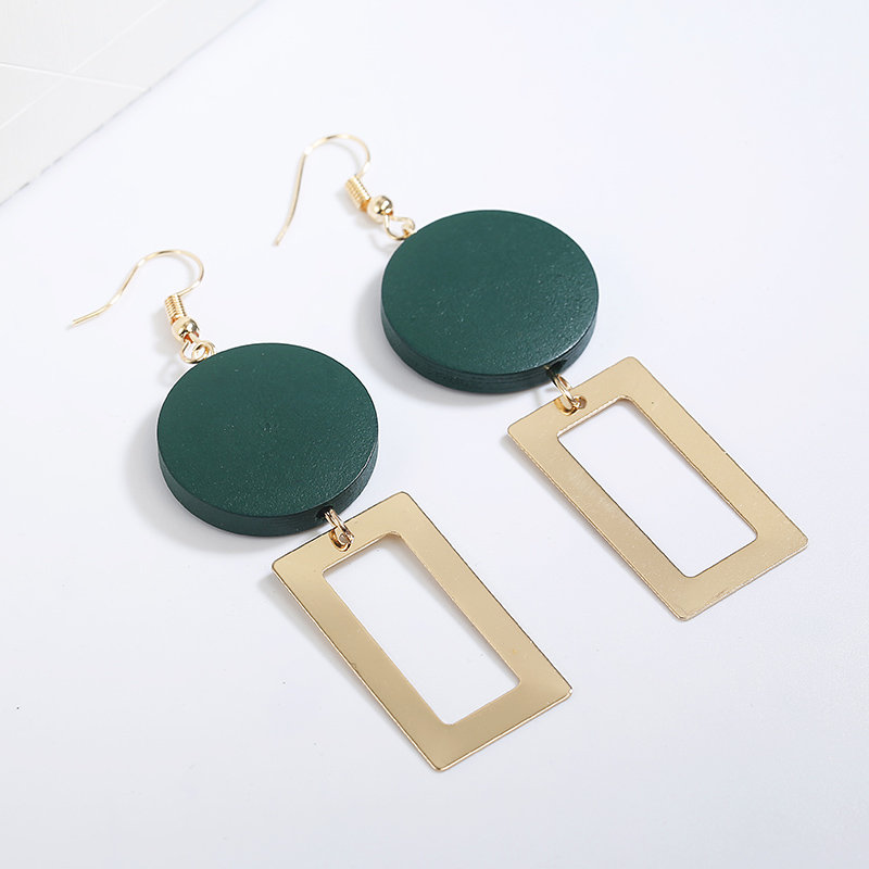18 Retro women's fashion statement earring earrings for wedding party Christmas gift wholesale 2
