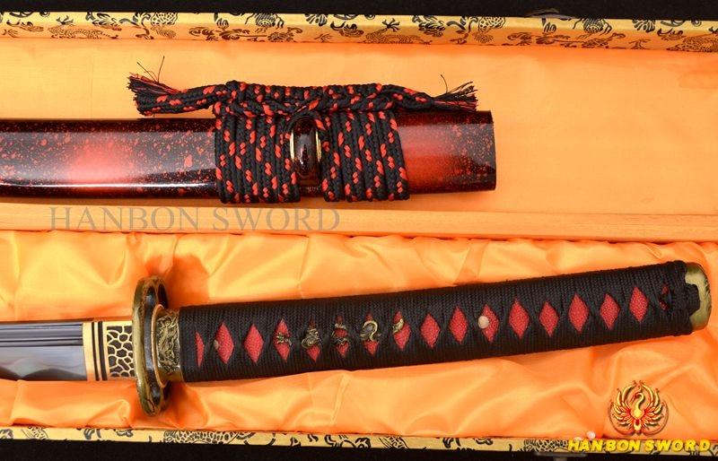 Ձեռքի դարբնոցային կավը Katana Samurai - Տնային դեկոր - Լուսանկար 4