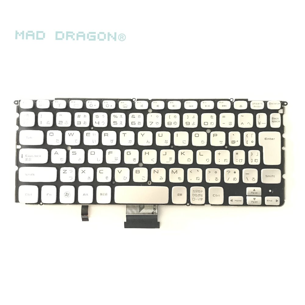MAD DRAGON new and original Laptop keyboard for DELL XPS 14Z L412 15Z L511 Backlit JP keyboard TW26Y 0TW26Y 58wh original laptop battery for xps 14z l412x 14z l412z v79y0 ymyf6 0ymyf6
