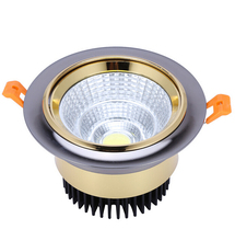 Dimmable 10w 15w COB led down light 85-265v spot recessed ceiling lamp dimmable downlight Led Lamp