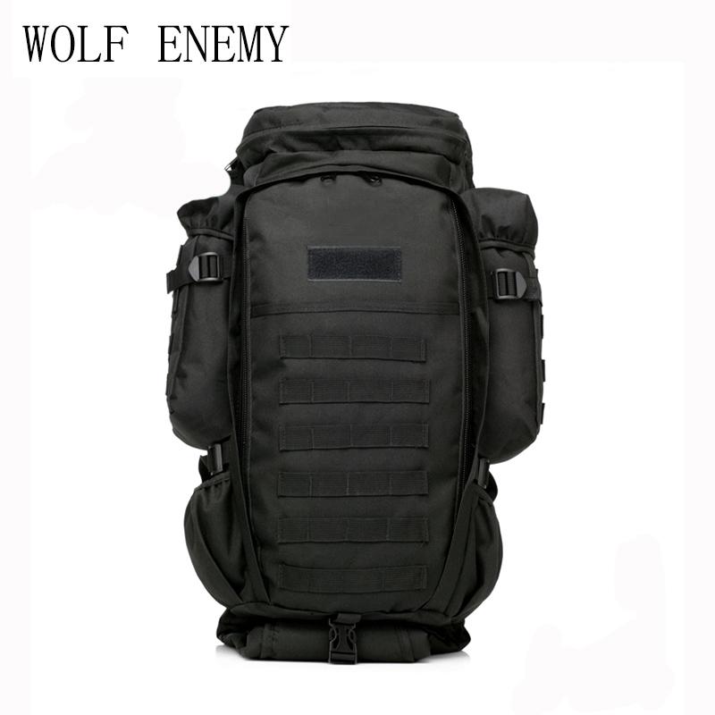 Military USMC Army Tactical Molle Sport Hiking Hunting Camping Rifle Backpack Bag