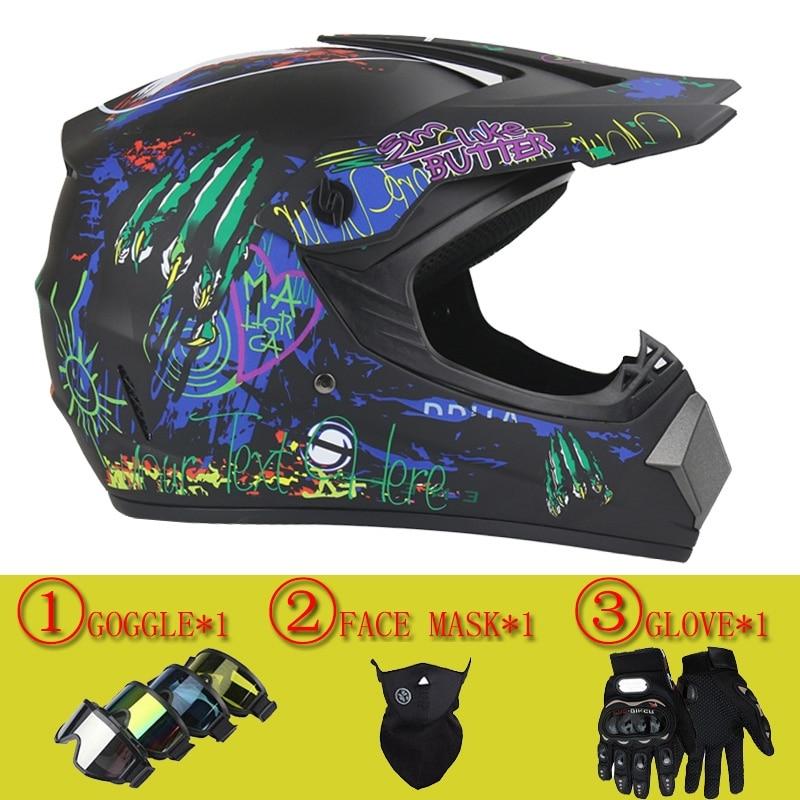 Hot sales Motocross Helmet ATV Motocicleta Casque Para Moto Casco Off Road Dirt downhill bike helmet