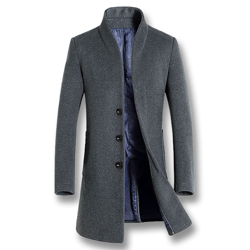 Laine Mâle Black navy Poitrine Mode Équipée Red Manteaux Jaqueta Masculina Outwear Smart Vestes wine gray Slim 2018 Unique Casual Hommes tOn8zRqZ