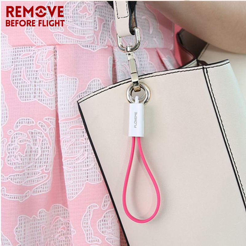 Fashion Keychain USB Cable Multi-Function Portable Car Key chain Data Cord Charger Universal Micro USB Cable KEY CHAIN (13)